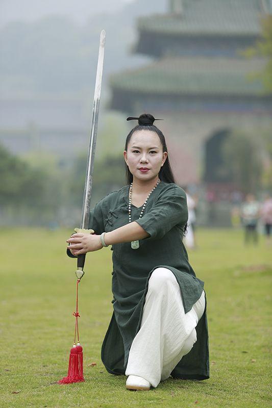 The Blind Ninja  Wudang Tai Chi Jian