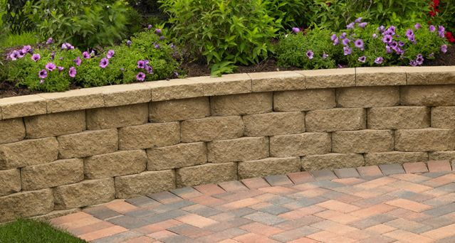Retaining Wall Home Depot retaining wall stones home depot image gallery - hcpr