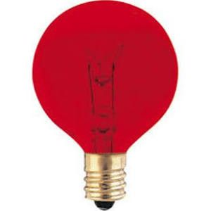 Bulbrite 306010 10G12R Red Light Bulb