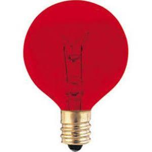 Bulbrite 306010 10G12R Red Light Bulb