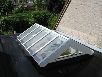 Serrebouw Brabant Lichtstraat Model, lichtstraten prijzen, kosten lichtstraat   Serrebouw Brabant