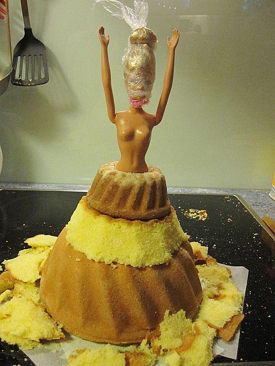 Barbie torte fondant rezept