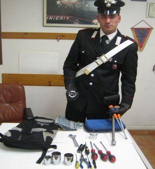 Isernia furti in abitazione: pregiudicato denunciato dai Carabinieri