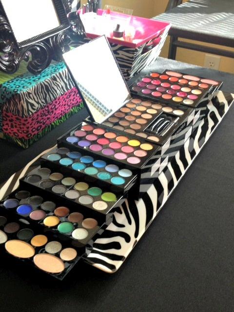 Sephora makeup kit for Mini POP Makeovers girls birthday