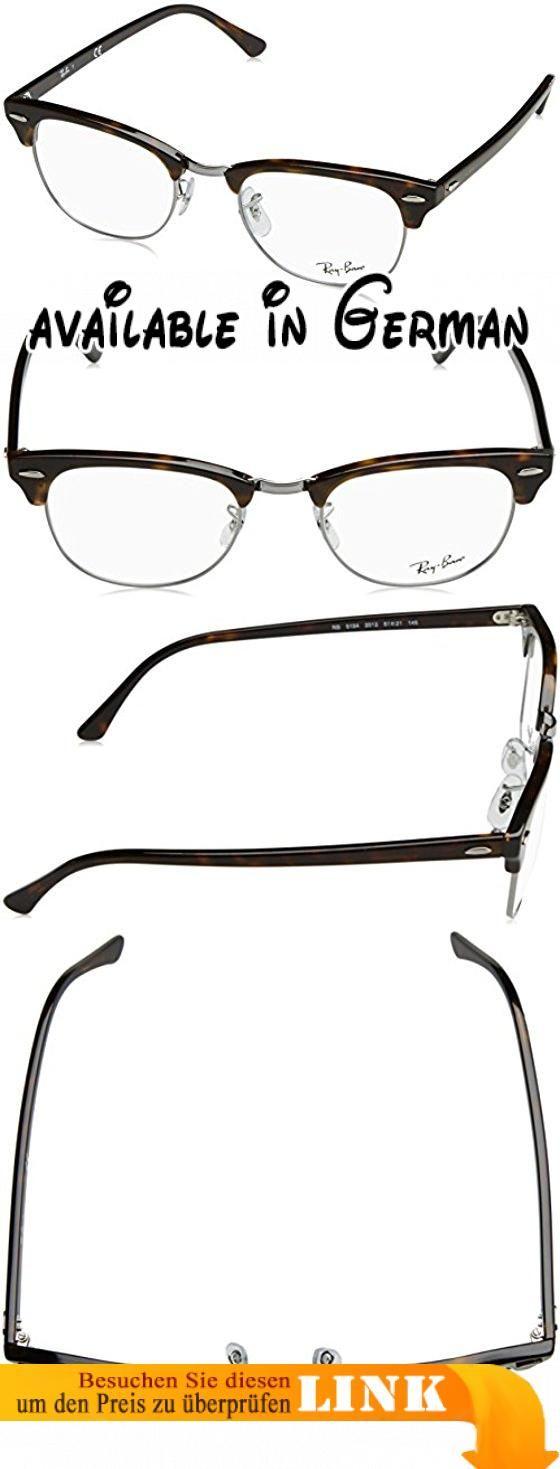 Ray-Ban Unisex-Erwachsene 5154 Brillengestelle, Schwarz (Negro), 51. Greymirrorblackpolar lens. Protective case included #Apparel #EYEWEAR