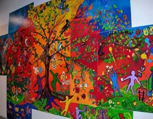 Social Justice Paintings Brick Wall