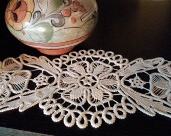 Point de Crochet napperon en dentelle Style par ValeriasShop