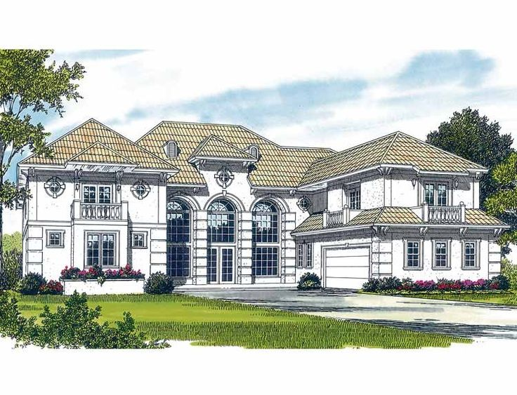 Eplans italianate house plan palatial elegance 8068 for Italianate house plans