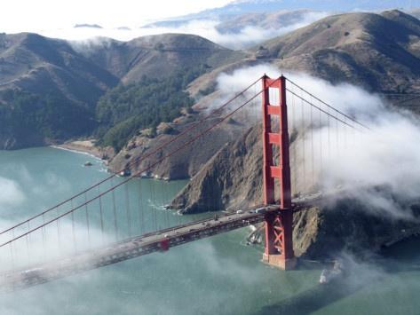 San Francisco: Golden Gate Bridge, Canvas Prints, San Francisco Bays, Golden Gates Bridges, Sandra Cannon, Art Prints, Art Com, Autumn Fog, Photographers Prints