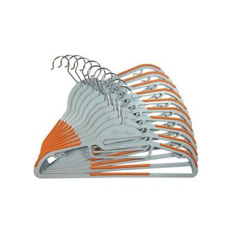 Buy 20 Piece Set of Non-Slip Clothes Hangers Orange online at Lazada Singapore. Discount prices and promotional sale on all Hangers & Pegs. Free Shipping.