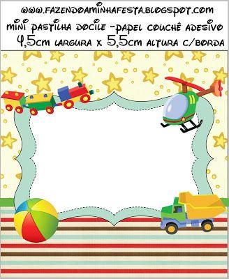 Oyuncak Temalı Ücretsiz Parti Seti - Neşeli Süs Evim - Ücretsiz Doğum Günü Süsleri