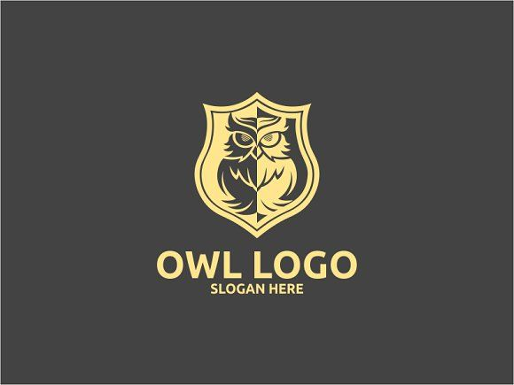 Owl logo by Brandlogo on @creativemarket