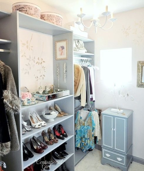 closet inspiration: Closet Idea, Shoes, Beautiful Closet, Closet Makeovers, Dream Closet, Pretty Closet, Closet Organizations, Dresses Rooms, Closet Rooms