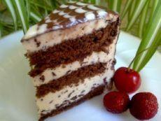 Торт «Кофе с шоколадом» | Рецепты тортов