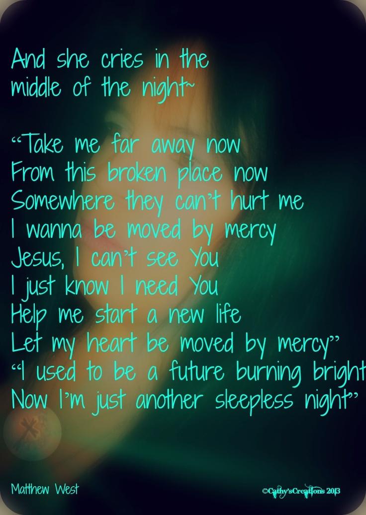 Lyric mercy mercy hillsong lyrics : 57 best inspirational song lyrics images on Pinterest ...
