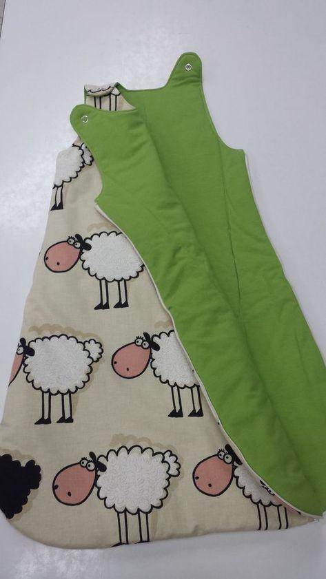 Kostenloses Schnittmuster Schlafsack für Babys und Kleinkinder von ...
