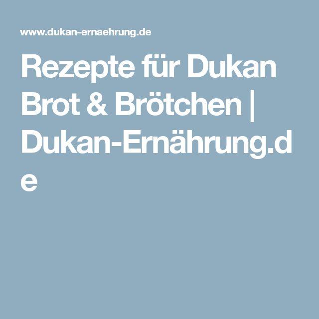 Rezepte für Dukan Brot & Brötchen | Dukan-Ernährung.de