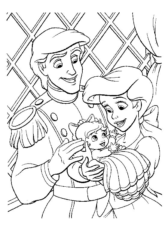665 best ariel images on Pinterest Drawings Coloring books and