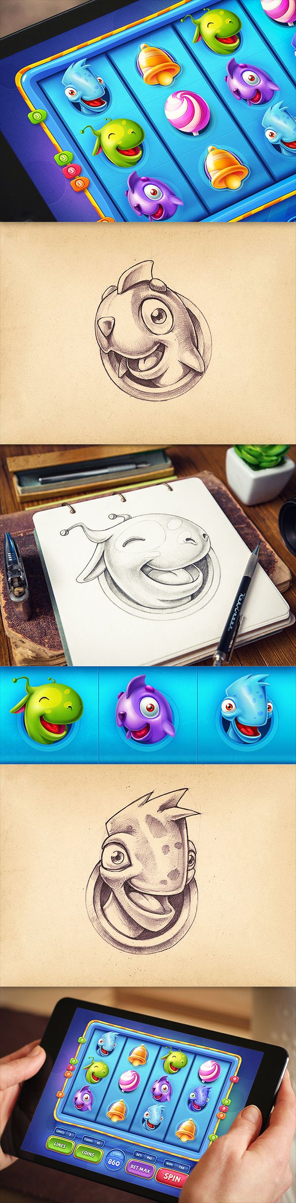 iOS Games   Part 3 on Behance