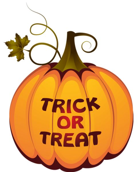 Transparent Trick or Treat Pumpkin PNG Clipart