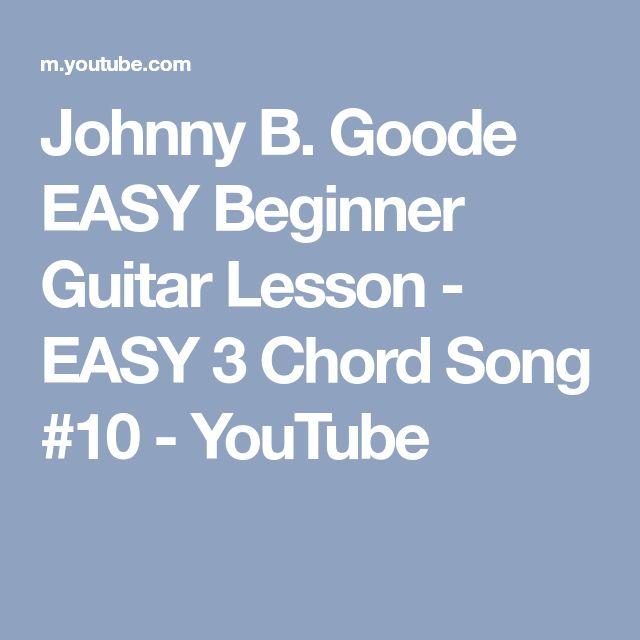Johnny B Goode Guitar Lesson - Chuck Berry ...
