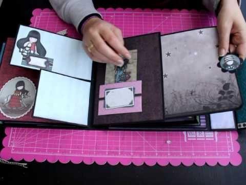 Album Gorjuss Nueva Colección Bellaluna crafts Scrapbooking - YouTube