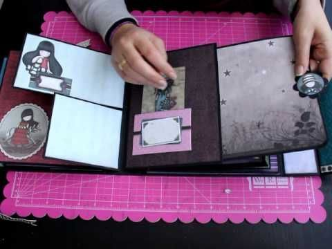 Album Gorjuss Nueva Colección Bellaluna crafts Scrapbooking - YouTube