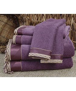 Beacoupe Purple Towel (Set of 6) by Avanti | Overstock™ Shopping - Top Rated Bath Towels