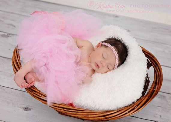 Newborn Pink Tutu Tutus for Baby Girls Newborn Tutu and