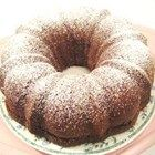 Boscobel Beach Ginger Cake - A Jamaican cake loaded with fresh ginger and baked in a 9 inch Bundt pan.