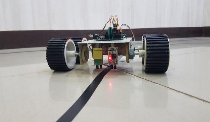 Arduino Line Follower Robot 2