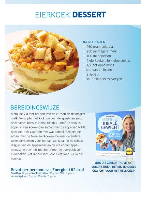Eierkoek dessert - Lidl Nederland