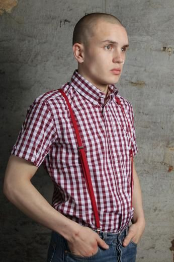 Warrior Clothing red gingham shirt. Of all the shirts I have, Warrior (and this shirt in particular) is my favorite. The quality, price, fit and style are all top-notch. I'd take a Warrior button-down over just about any other brand (even Fred Perry) except for maybe a quality Ben Sherman.