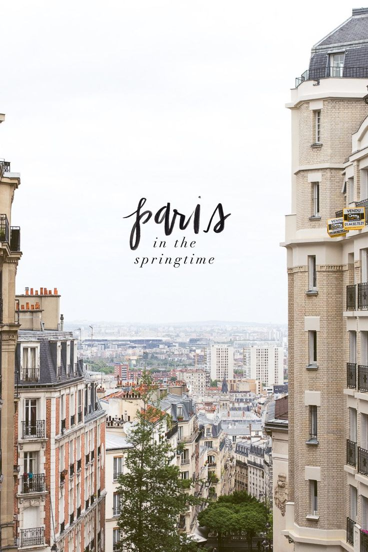 Paris in the Springtime Travel Diary // featuring Helly Hansen