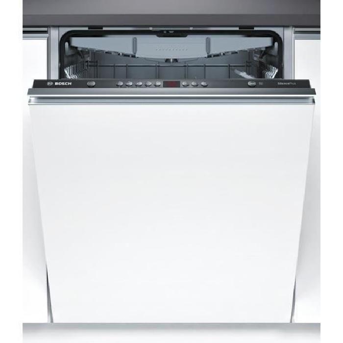 LAVE-VAISSELLE BOSCH SMV58L10EU - Lave-vaisselle tout intégrable - 13 couverts - 48dB - A+ - Larg. 59,8cm