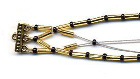 Bugle bead bracelet from favecrafts.com