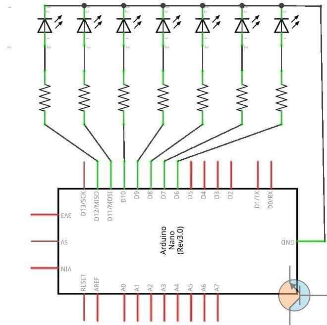 Arduino – Knight Rider