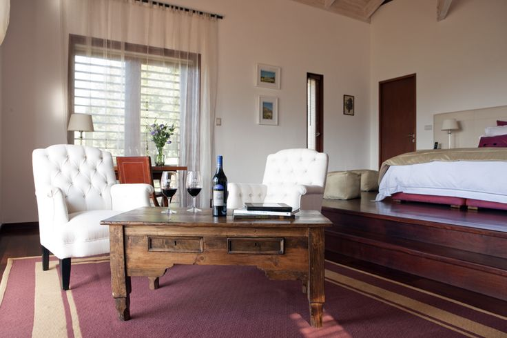 Casita Merlot Only four suites nestled into the native forested hillside of the valley, provide serenity and privacy.