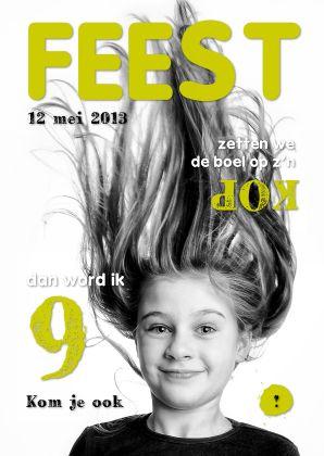 Uitnodiging kinderfeest cover magazine 4 - Uitnodigingen - Kaartje2go