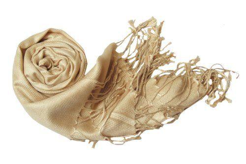 Tan Pashmina Stole/Wrap Peach Couture. $6.95. Save 65%!