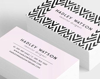 Best 25 thick business cards ideas on pinterest plastic geometric business card printed business cards custom business cards striped business card reheart Image collections