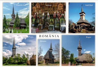 ROMANIA (Maramureş) - Wooden churches of Maramureş (UNESCO WHS)