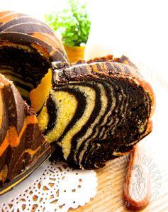 zebra bundt cake 斑马 bundt 蛋糕