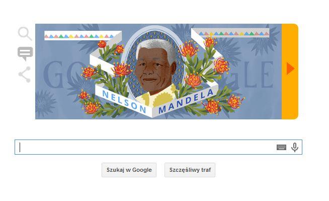 W dzisiejszym dniu Google przypomina o urodzinach znanego na całym świecie laureata pokojowej nagrody Nobla i działacza na rzecz praw człowieka.  #NelsonMandela #Google