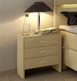 1000 ideen zu nachttisch boxspringbett auf pinterest. Black Bedroom Furniture Sets. Home Design Ideas