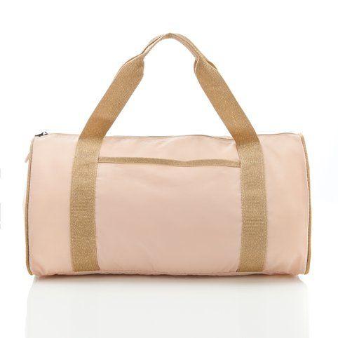 Sac forme polochon en toile Color Bag Bensimon - Rose