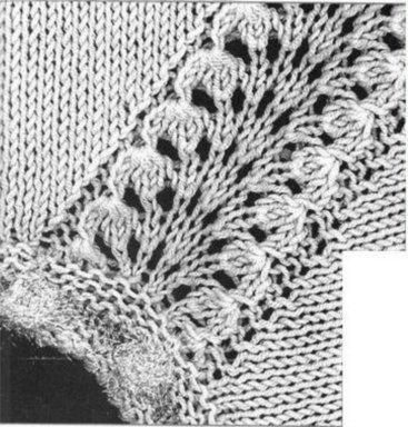 Вязать юбка с регланными полосками