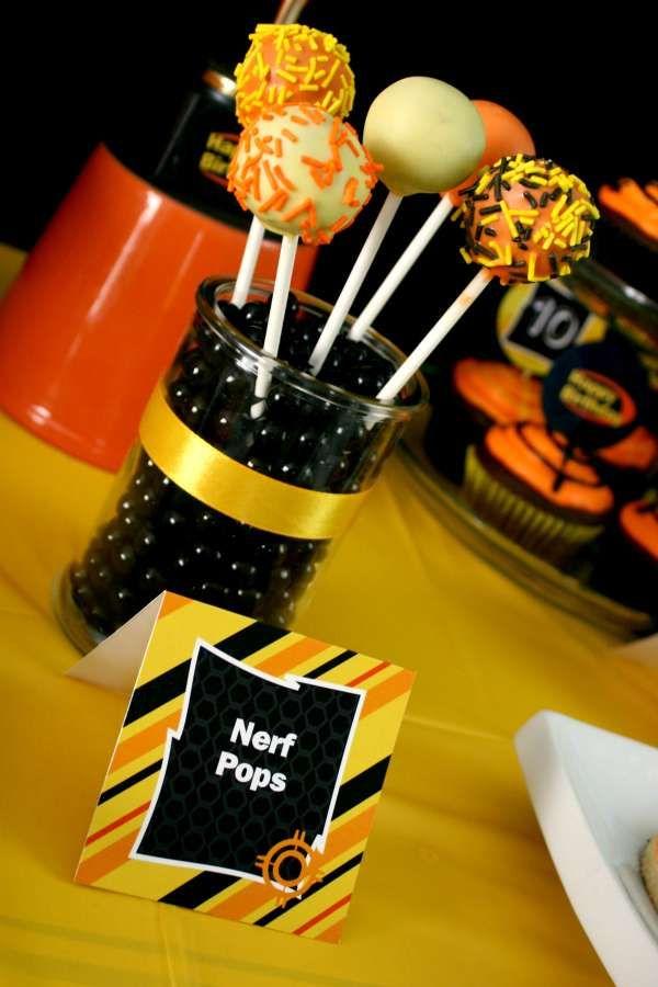 Nerf Birthday Party Ideas | Photo 1 of 15