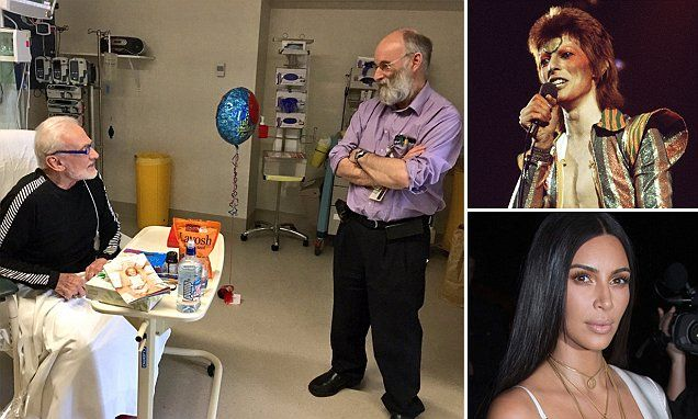 Buzz Aldrin keeps up with the Kardashians while recovering in hospital