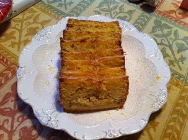 Apple Tea Cake with Lemon Glaze | Desserts | Pinterest